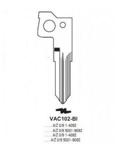 Key blade X X VAC102-BI X