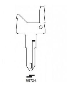 Key blade X X NE72-I X