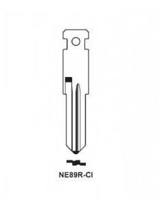 Key blade X X NE89R-CI X