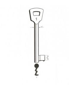 Key blank Nemef7