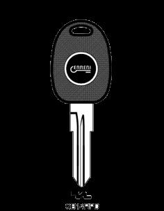 Transponder key shell...